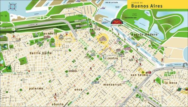 mapa centro buenos aires