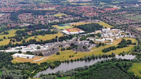 aerial view uea