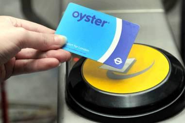 Oyster, Londres, Transporte